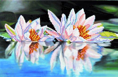 4008 Рисунок на шелке Матренин посад 'Лилии' 24*30см (28*34см)