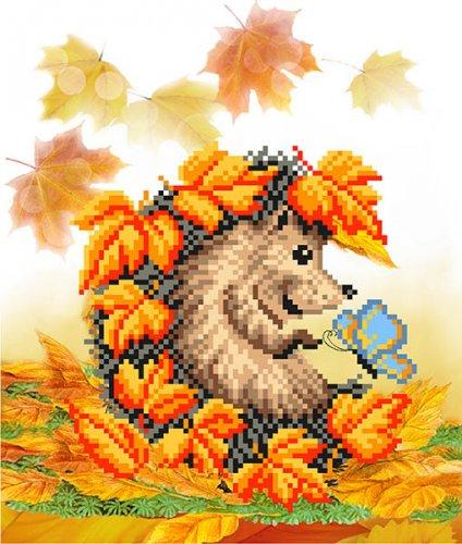 4116 Рисунок на шелке Матренин посад 'Осенняя встреча' 24*30см (28*34см)