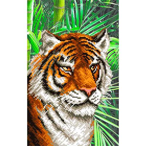 4111 Рисунок на шелке Матренин посад 'Тигрица' 24*30см (28*34см)