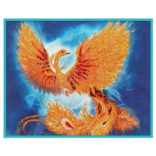 63103 Набор для вышивания бисером Astrea 'Жар-птица' 40х32см