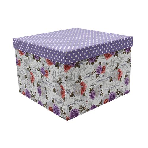 HY007032626 Подарочная коробка 'Розы', 26,5*26,5*18,5см