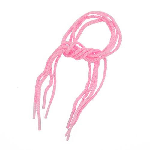 25391 Шнурки обувные для игрушек, 1,5см*30см, 2 пары, роз.