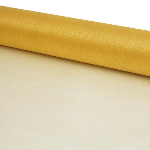 11422500 Органза-снег в рулоне 47см*10м золото
