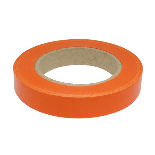 59609 Лента простая 2/50 однотонная гладкая Р2000 оранжевая