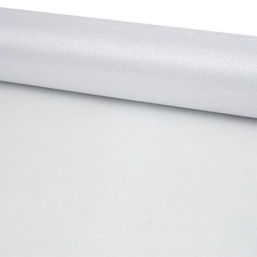 11422490 Органза-снег в рулоне 47см*10м белый