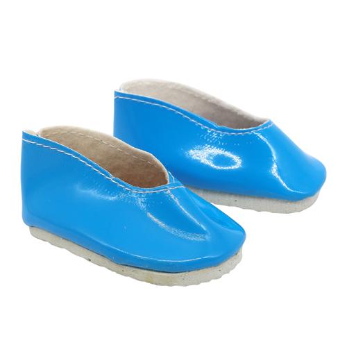 26706 Туфли для игрушек 6,5*2,5см, голубой