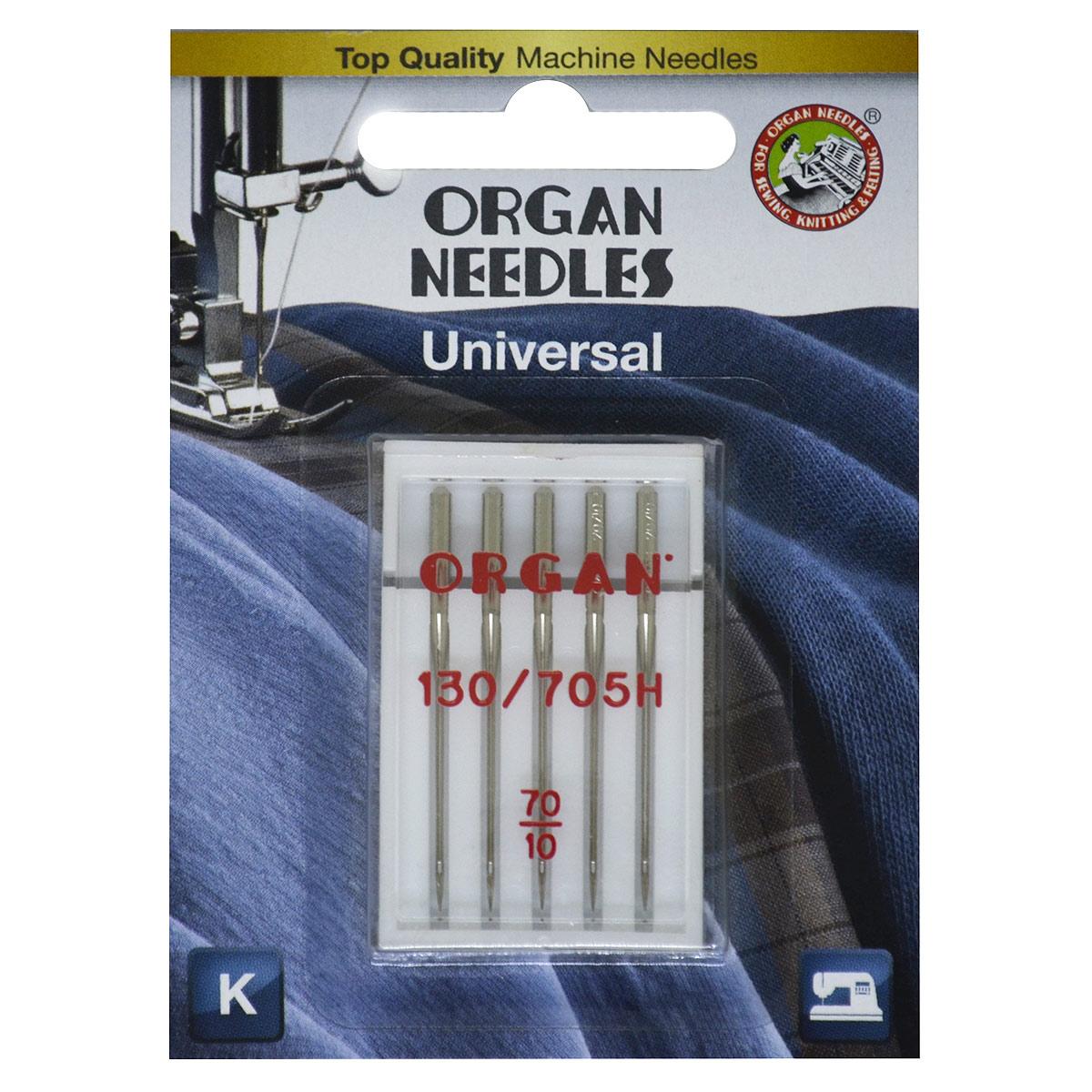 ORGAN иглы универсальные 5/70 Blister
