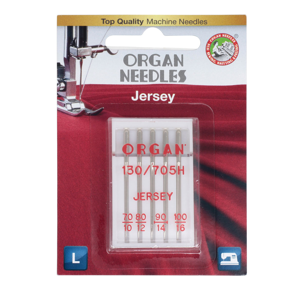 ORGAN иглы джерси 5/70-100 Blister фото