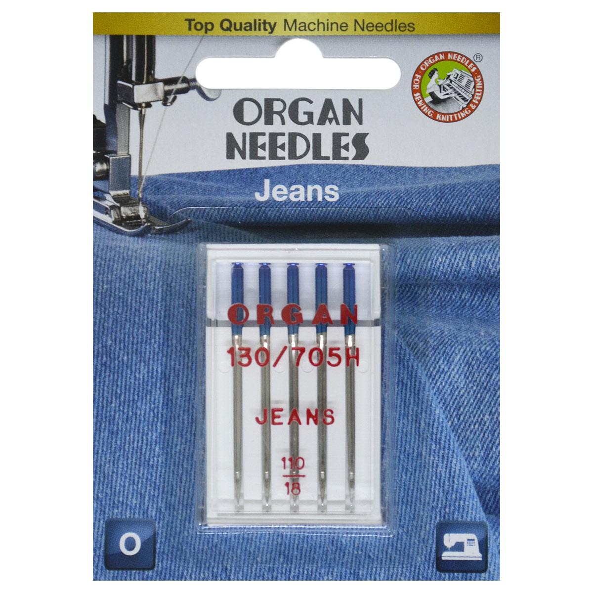 ORGAN иглы джинсовые 5/110 Blister
