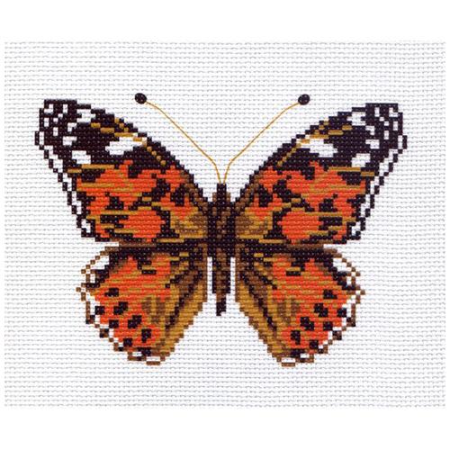 0511-1 Канва с рисунком Матренин посад 'Репейница' 16*20см