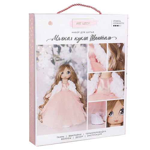 3548680 Интерьерная кукла 'Шанталь', набор для шитья, 18 * 22.5 * 3 см