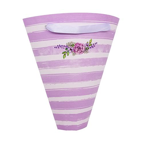 2566560 Конверт–конус для цветов «Замечательного настроения», 8 *26,5 см