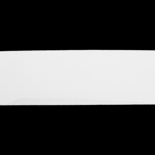 Лента тканая эласт. башм. 60мм*20м белая