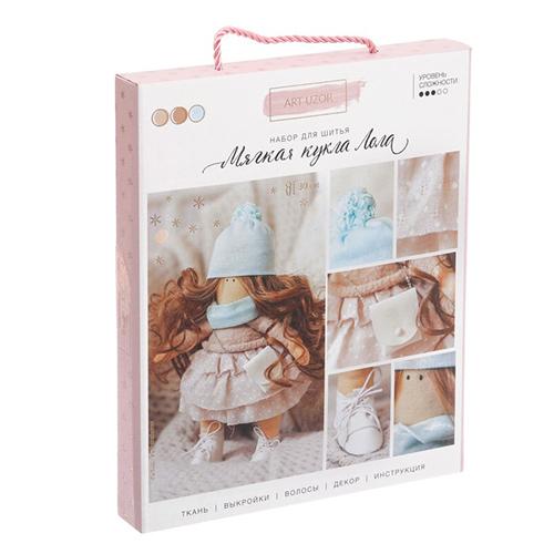 3299336 Интерьерная кукла «Лола», набор для шитья, 18,9*22,5*2,5 см