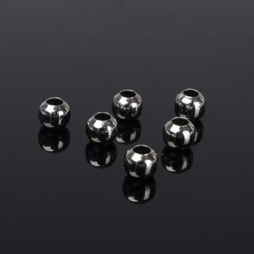 1353577 Кримп (зажимная бусина), СМ-373, 6 мм (набор 20шт), цвет серебро