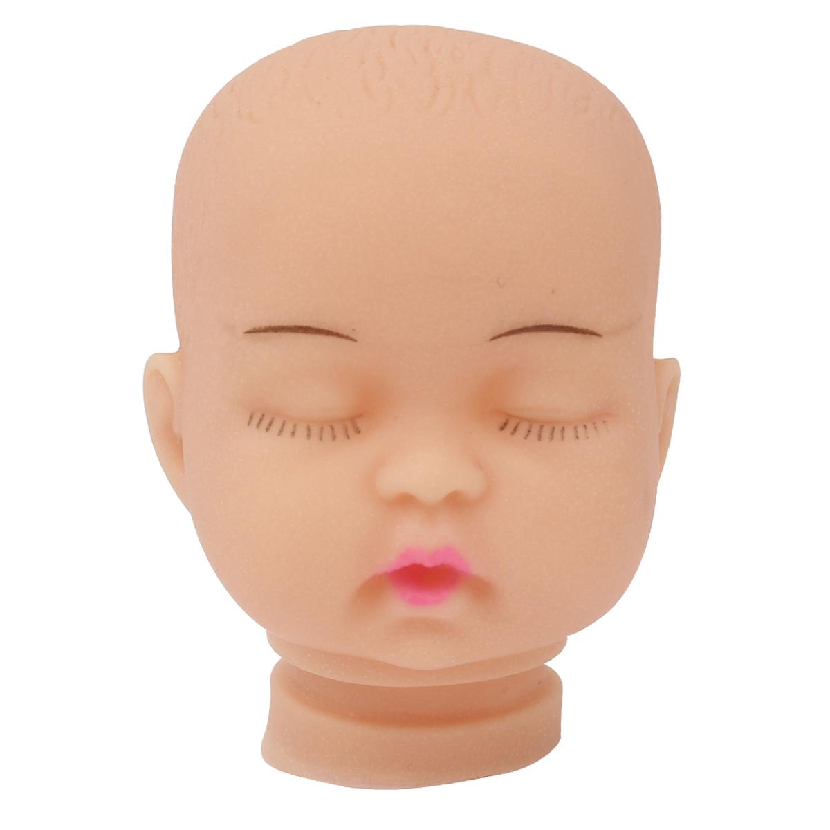 27038 Пластиковая заготовка 'Голова для малыша' 4см*5,5см