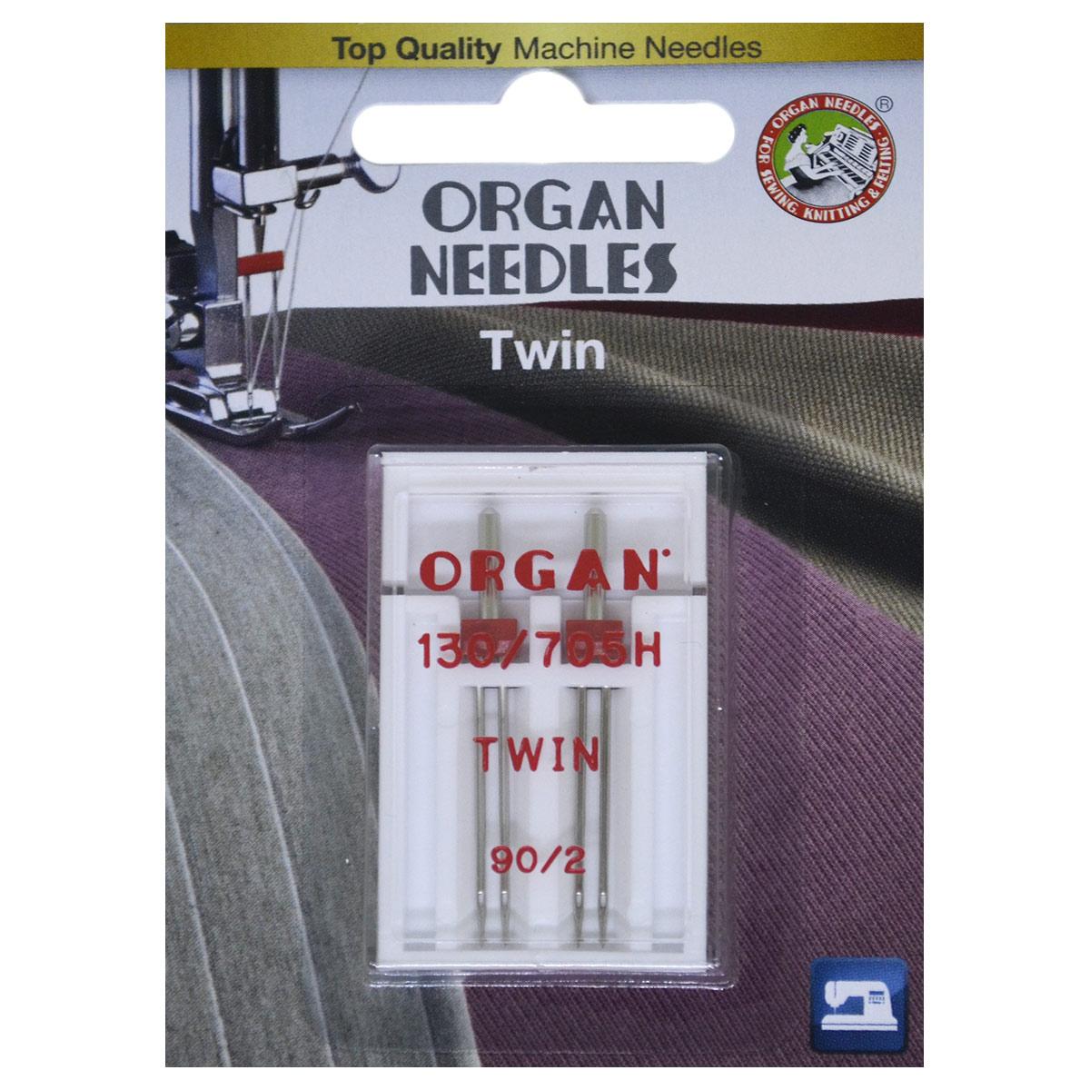 ORGAN иглы двойные 2-90/2 Blister