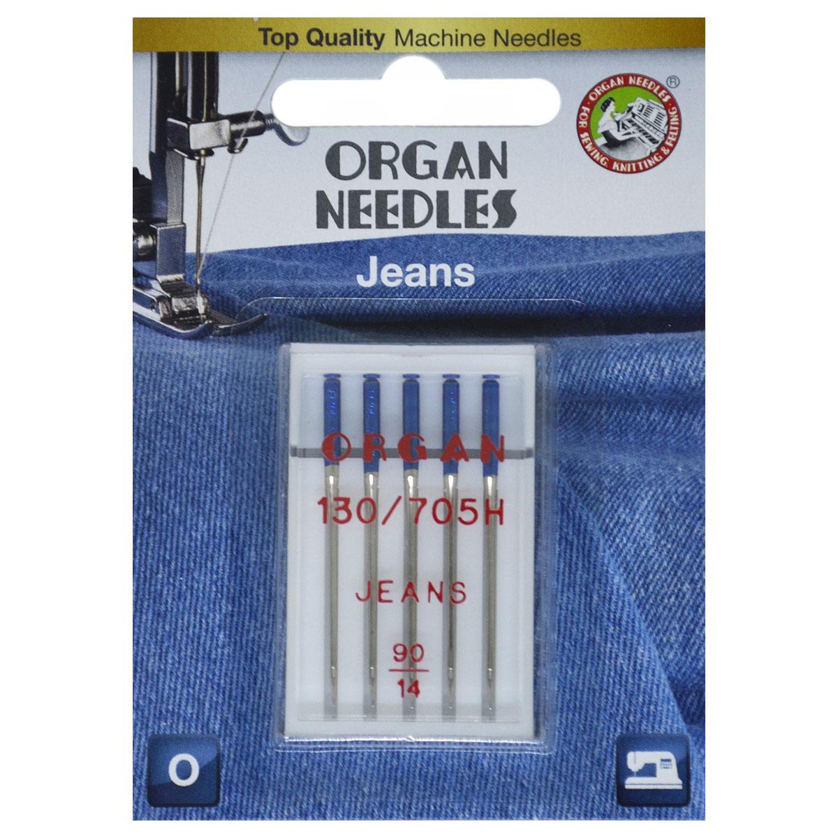 ORGAN иглы джинсовые 5/90 Blister