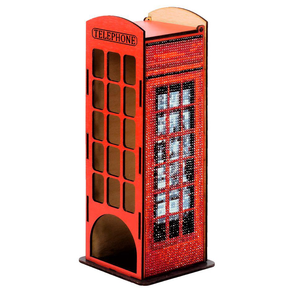 W0004 Чайный домик 'Телефонная будка' 100*100*260мм Гранни