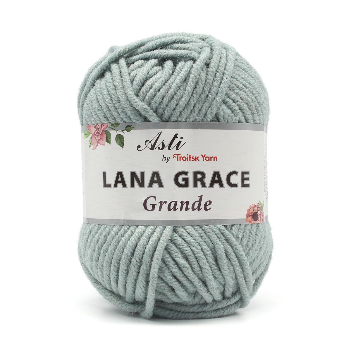 Пряжа из Троицка 'Lana Grace Grande' 100гр. 65м. (25% мериносовая шерсть, 75% акрил супер софт )