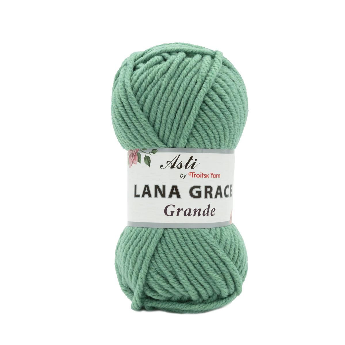 Пряжа из Троицка 'Lana Grace Grande' 100гр. 65м. (25% мериносовая шерсть, 75% акрил супер софт ) (1120 мелиса)