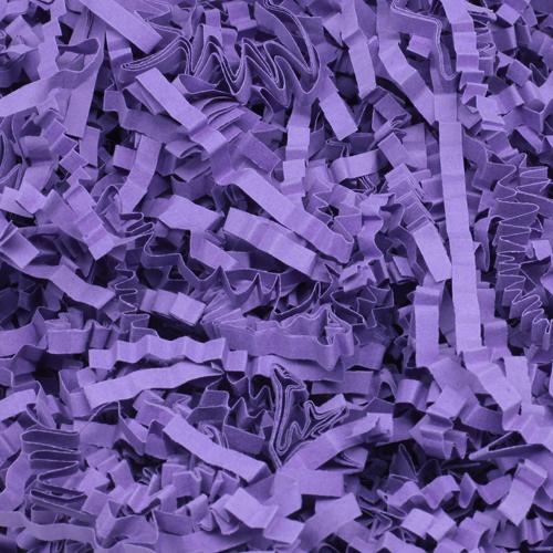 57627 Наполнитель флористический бумажный 100г фиолетовый