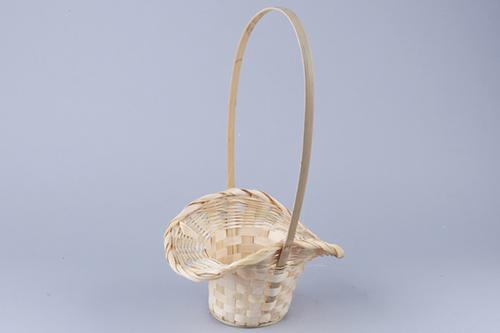 66913 Корзина плетеная Шляпа, 22*17*10см натуральный B26-2