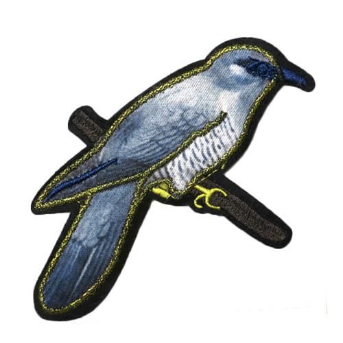 ГДФ09 Термоаппликация Птица 12,5*7,5см