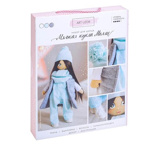 3299320 Интерьерная кукла «Молли», набор для шитья, 18,9* 22,5* 2,5 см