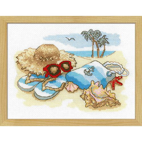 1719 Набор для вышивания Риолис 'Отдых на море' 24*18 см фото