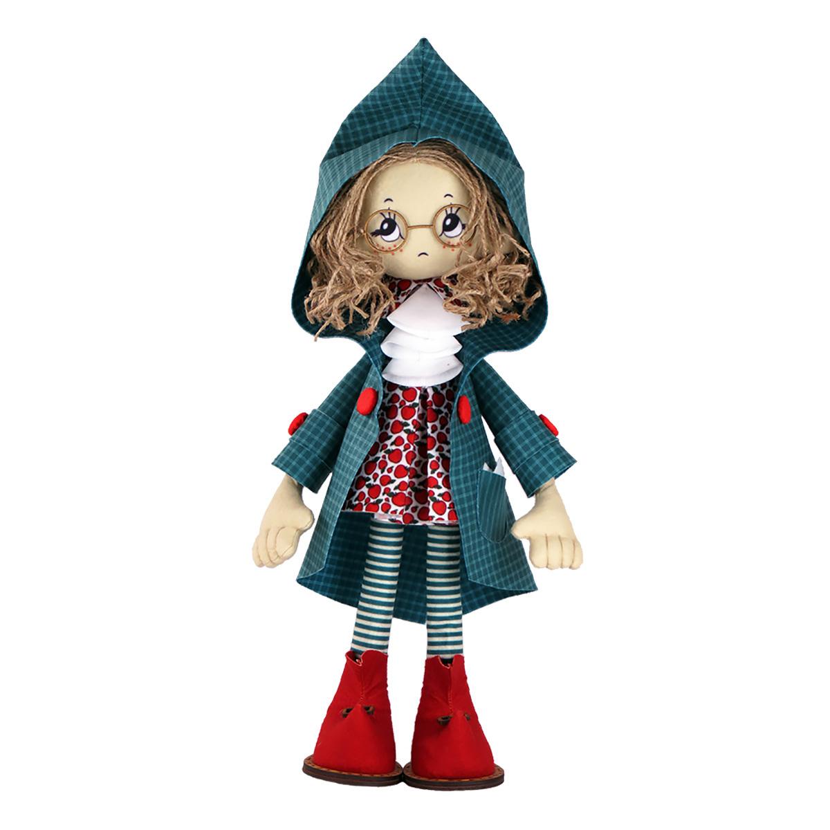 К1059 Набор для создания каркасной текстильной куклы 'Мишель' 50см