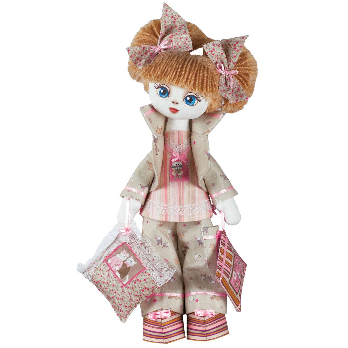 К1009 Набор для создания каркасной текстильной куклы 'Соня' 45см