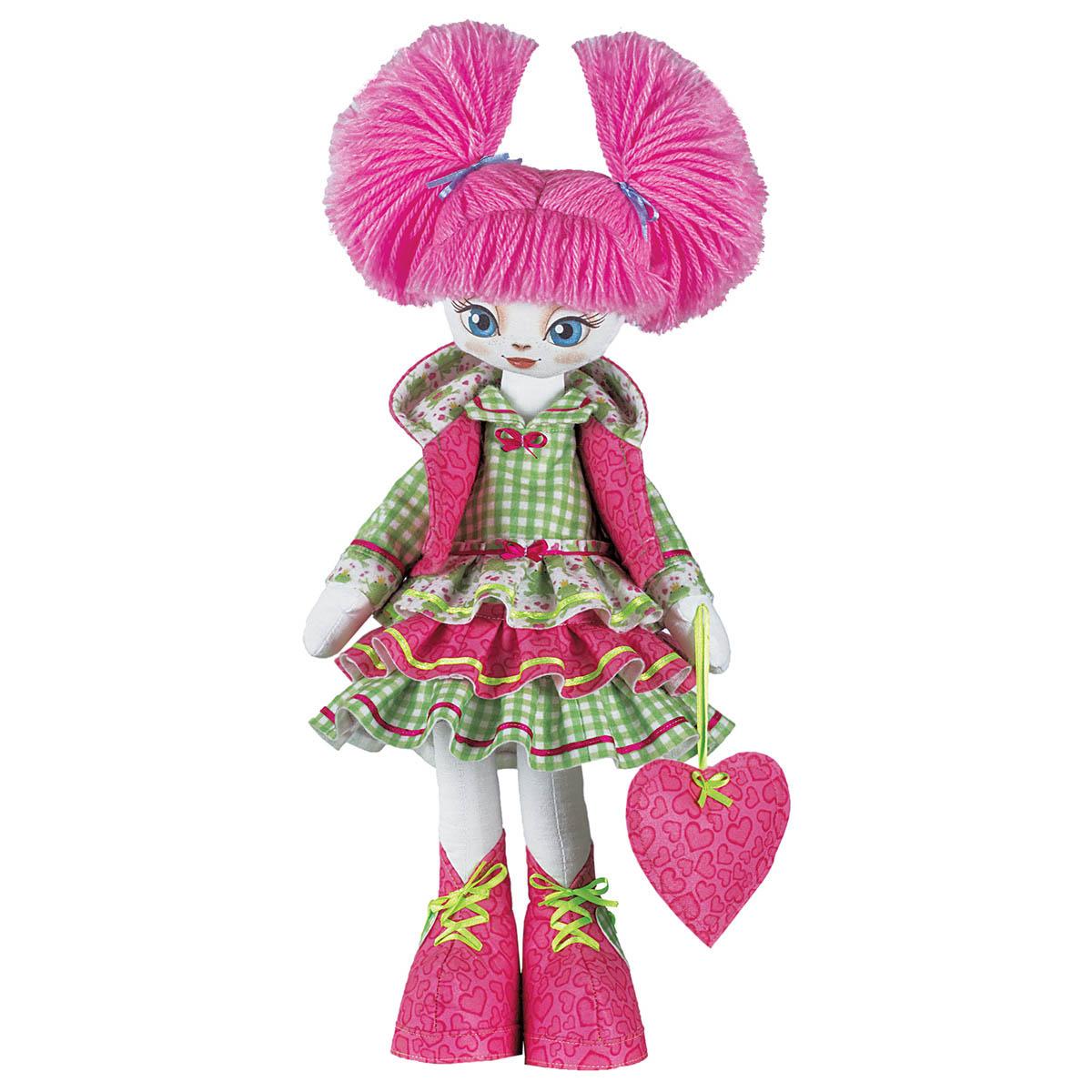К1001 Набор для создания каркасной текстильной куклы 'Милашка'45см
