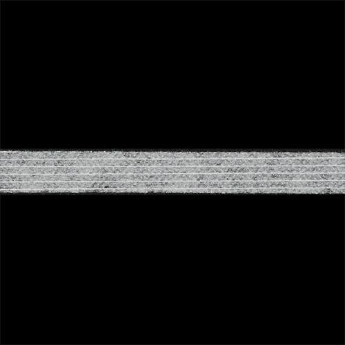 Лента по долевой белая 10 мм