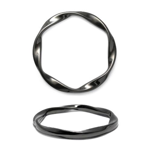 ГД15097 Кольцо мет 40мм, черный никель