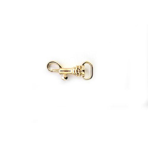 ГНУ12578 Карабин 10 мм, золото