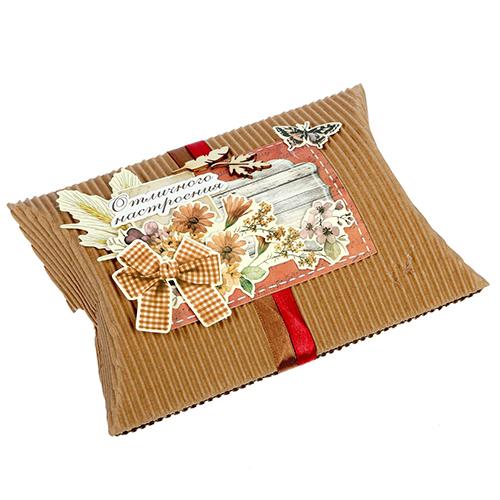 1277126 Набор для создания коробки-подушки 'Отличного настроения', 14 х19 см