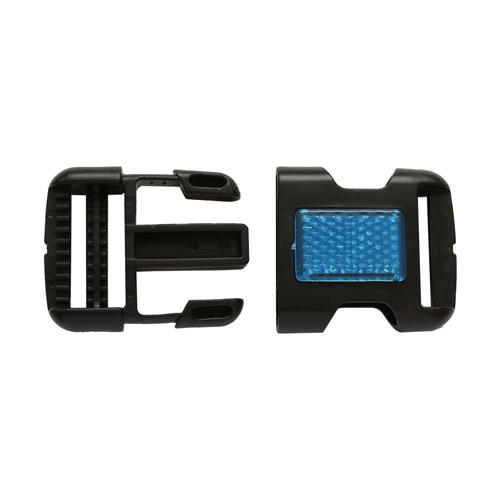 MF4800 Фастекс 30мм черный с син.отраж.элем.