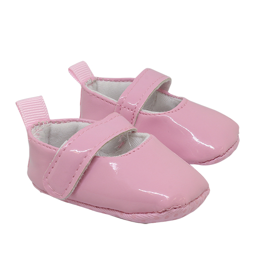25273 Туфли лакированные, размер по подошве 7,5см*выс.3см, пара, цв.розовый
