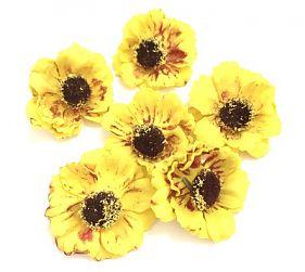 Цветок из фоамирана 40мм, уп. 6шт