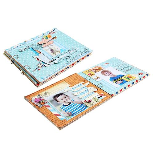 1002692 Набор для оформления фотоальбома 'Храни воспоминания', 29.5 х29.5 см