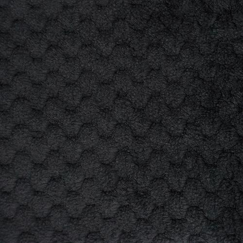 25748 Мех 'Фактурный-СОТЫ' 50см*50см (+/-1,0см) , цв.чёрн.