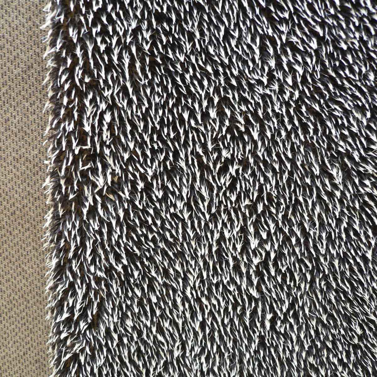 26159 Мех 'ЭЛИТ' 20121/1 'Ёжик' 17см*25см (1/32) , жёсткий ворс 9мм , 49% шерсть мохер- 51% хлопок