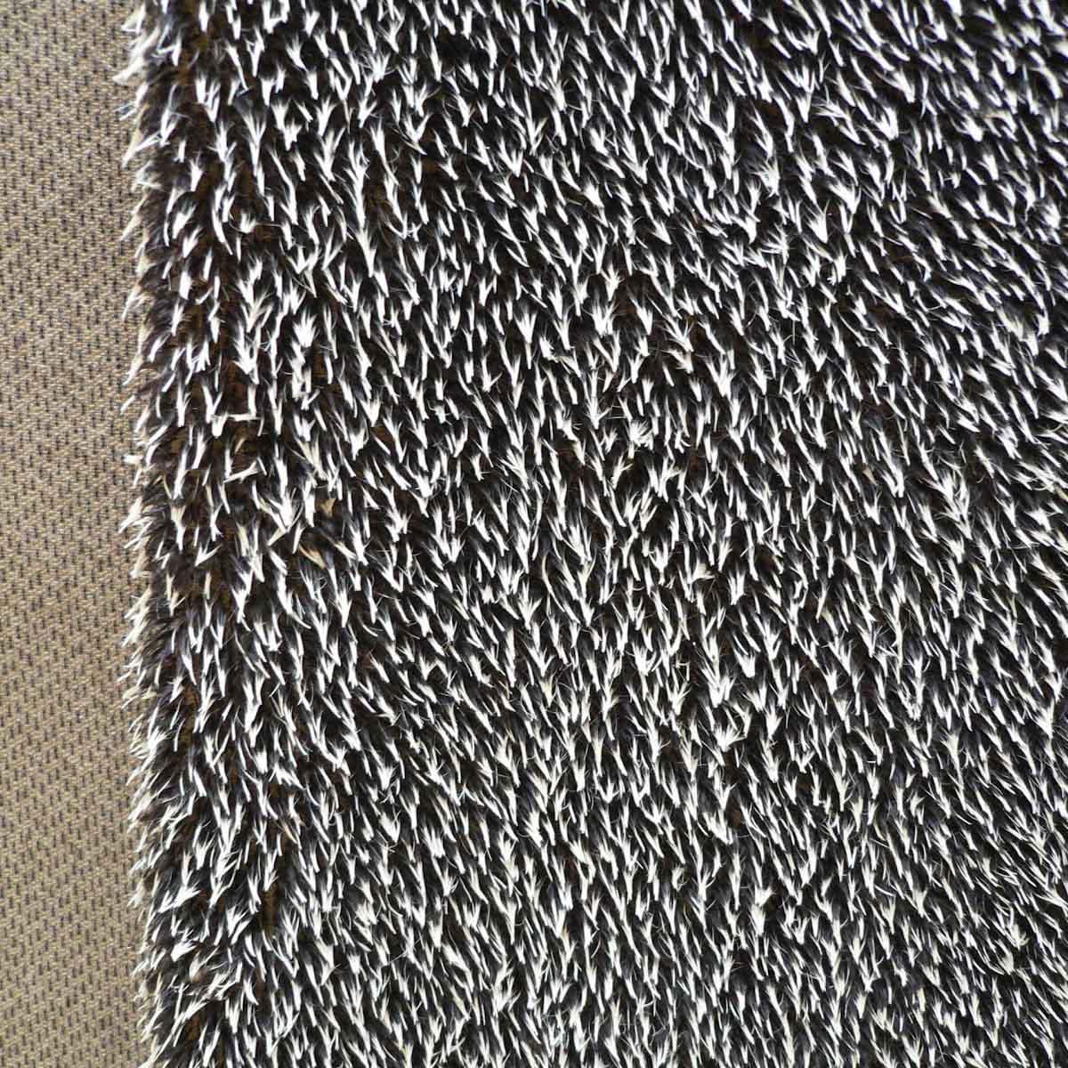 26161 Мех 'ЭЛИТ' 20136/1 'Ёжик' 17см*25см (1/32), жёсткий ворс 17мм , 57% шерсть мохер- 43% хлопок