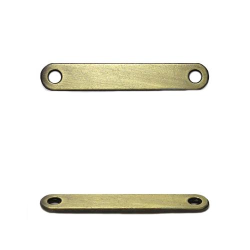 ГХН13979 Украшение 9*30 мм, тертая бронза (нашивка)