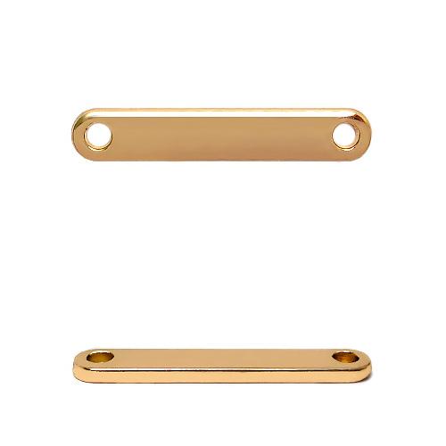 ГХН13979 Украшение 8*35 мм, золото (нашивка)