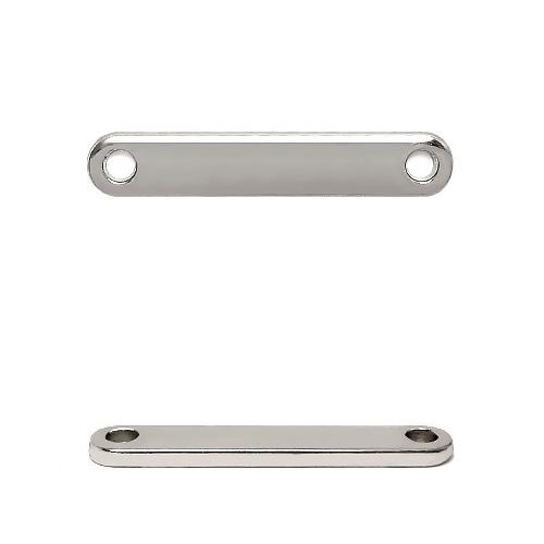 ГХН13979 Украшение 8*35 мм, никель (нашивка)