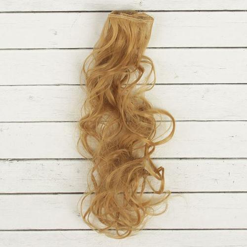 2294345 Трессы для кукол 'Кудри' длина волос 40 см, ширина 50 см, № 27