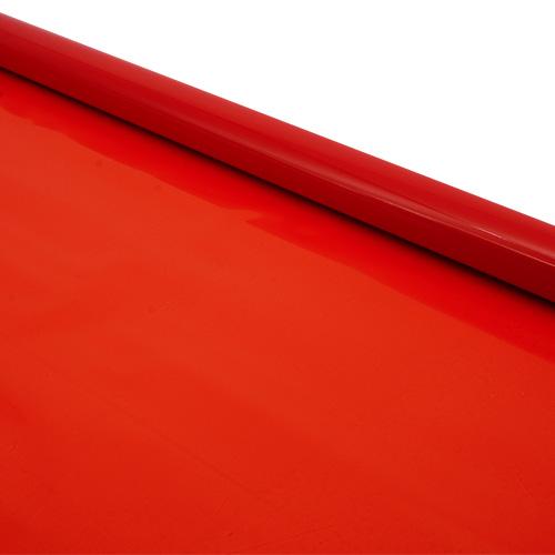 6049602 Пленка матовая цветная 70см красная