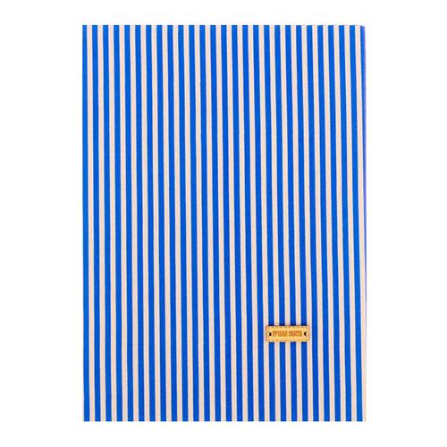 3087725 Ткань на клеевой основе «Синие полоски»,